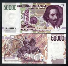 50.000 Lire Bernini 2° Tipo Lettera A  FDS