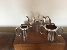 LOVELY HOTEL WARE SILVER PLATED TEA SERVICE (T TURNER & CO) {REF 7612)