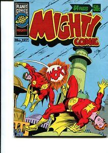 MIGHTY COMICS #127 GIANT 64 PAGE AUSTRALIAN PRINT (MURRY COMICS)