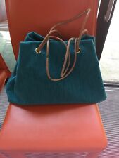 Unique Handmade Southern Trains Moquette handbag/tote/carpet bag