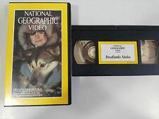 DESAFIANDO ALASKA - VHS TAPE CINTA NATIONAL GEOGRAPHIC VIDEO