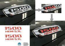 1500 Hemi 5.7L Hood Emblem Overlay Decals for 2019 2020 2021 Ram