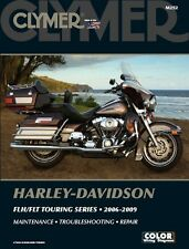 2006-2009 Harley Davidson FL Road King Electra Glide CLYMER REPAIR MANUAL M252