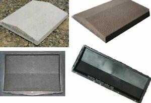 Schalungsformen / Gießformen für Mauer - Abdeckungen - Zusatzmittel. Mauerschutz