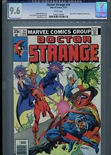 Dr Doctor Strange #34 CGC 9.6 (1979) Cyrus Black & Nightmare White Pages
