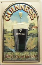 Guinness Smoothness 3d Tin Sign 20x30 Cm