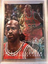 1996 Flair Row 0 Michael Jordan PSA 9