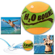 WATER BOUNCING SKIM SKILL TRICKS BALL BOYS GIRLS FUN TOY BOUNCE SPLASH SWIMMING
