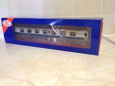 More details for heljan o gauge 4936 mk 1 fk coach unnumbered  in br blue/grey with cw bogies