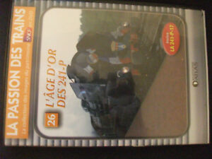 DVD The passion of trains no.879.2oz'âge gold of 241-P