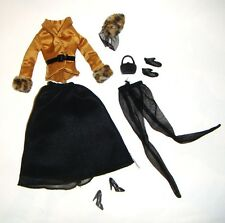 Barbie Doll Sized Fashion Outfit Jacket, Skirt For Barbie Doll eb1