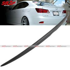 OE style Trunk Lip ABS Black Spoiler Wing fits for 06-13 Lexus IS250 IS350 ISF
