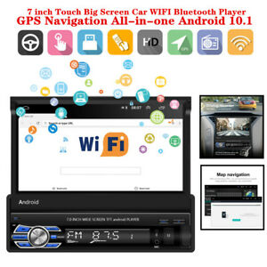 "2DIN 7""Touch Screen Car WIFI Bluetooth Player GPS Navigation Android10.1 1G +16G"