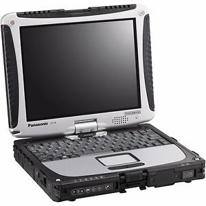 Panasonic Toughbook CF-19 MK2, Intel Core Duo, 4GB, 128GB SSD, Windows XP