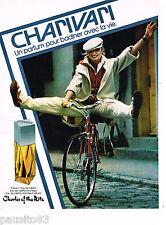 PUBLICITE ADVERTISING 055  1978  CHARLES OF THE RITZ  parfum CHARIVARI