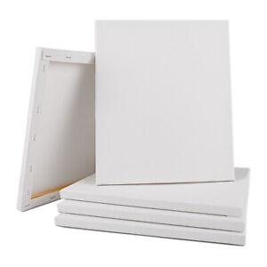 "5/8""Artist Painting Canvas Panels Primed Cotton Canvas Boards 100% Cotton 10Pack"