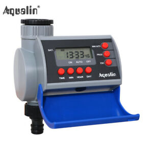 Solenoid Valve Automatic Electronic Water Tap Timer Garden Irrigation controller