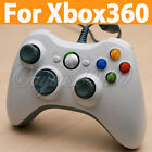 JOYSTICK WHITE WIRED CON FILO CONTROLLER P XBOX 360 Slim PC Windows 7/XP bianca