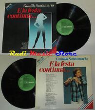 LP BAGUTTI presenta CAMILLO SANTAMARIA e la festa continua 1987 RCA cd mc vhs