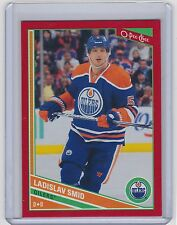 13-14 2013-14 O-PEE-CHEE LADISLAV SMID RED 347 OPC WRAPPER REDEMPTIONS OILERS