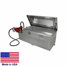 """60 Gallon Transfer Tank & Toolbox 57"""" x 20"""" x 19"""" - 12V Pump - For 6 & 8 ft Beds"""