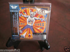 NINE LIVES by AEROSMITH JAPAN REPLICA TO THE ORIGINAL LP SEALED IN A OBI  CD