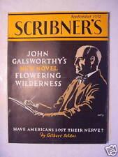 SCRIBNER'S September 1932 JOHN GALSWORTHY G SELDES +++