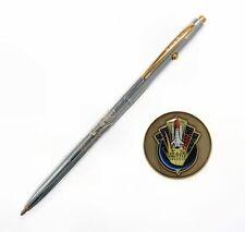 Fisher Space Pen #CH4-CES Shuttle Commemorative Edition Pen & Coin