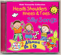 Heads Shoulders Knees & Toes  Silly Songs Children's kids nursery CD NEW&WRAPPED