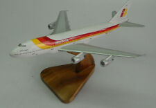 Promo Sale Boeing B747 Iberia Airlines 747 Airplane Wood Model Small FreeShip