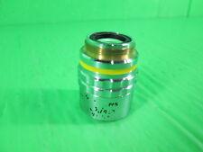 Nikon CF plan 10x/.3, Microscope Objective, Lens Broken as photo, dφm FTU CMB