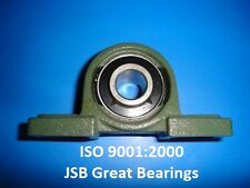 VXB 1-Inch UCP205-16 Pillow Block Bearing With Cast Iron Housing
