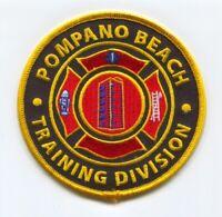 Pompano Beach Fire Department Training Division Patch Florida FL