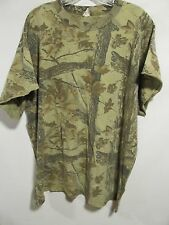 Unbranded men plus size 2X Brown camo T-shirt short sleeve Lot#30