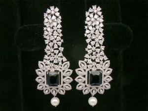 Cubic Zirconia Exclusive Designer Dangle Earrings 26 BLE 4