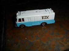 1975 Mint Loose TOMY Tomica Pocket Cars TV Mobile Unit TV-BUS no. 75 Made Japan