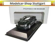 PORSCHE 911 Turbo S (1998) Brewster DARKGREEN Minichamps 1:43 map02002516 NUOVO