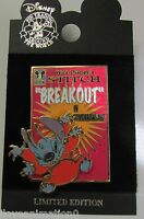 Disney Countdown to Stitch's Great Escape Attraction Opening Breakout Pin