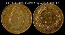 40 Francs 1836A Louis Philippe 1er   RARE 52738 Exemplaires OR