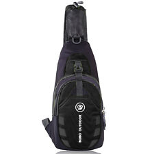 Men Small Chest Bag Pack Travel Hiking Sports Shoulder Women Backpack Cross Body