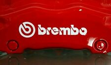 BREMBO Brake Caliper Decal High Temp. Vinyl  Stickers Set Of 8 (Any Color)