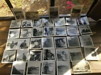 Lot of 37 Original Photos 1950's Street Scene Korea During or Post War