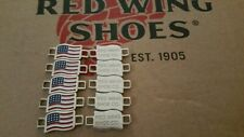 Redwing Wing Boot Lace Keepers. Five pairs (10)Boots not included, New shiny.