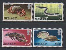 Jersey - 1973, Marine Life set - MNH - SG 99/102