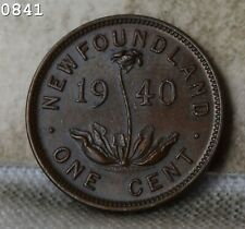 "1940 ""Newfoundland"" Canada Cent ""UNC"" *Free S/H After 1st Item*"