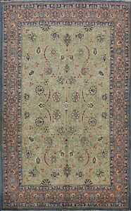 6x10 Vintage Traditional Floral Area Rug Hand-knotted Oriental Home Decor Carpet