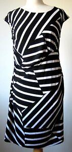 PEA IN A POD Maternity Dress, Black & White, Size 12