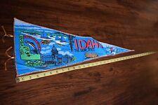 "Vintage Travel Pennant - Idaho - 26"""