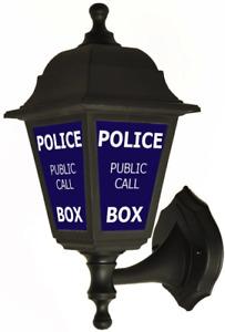 Police Public Call Box Style Outside Wall Lantern Lighting
