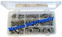 Type 316 Stainless Steel Hex Nut & Machine Hex Nut Assortment Kit